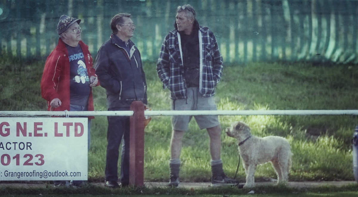RCA spectators - photograph by Simon Mears
